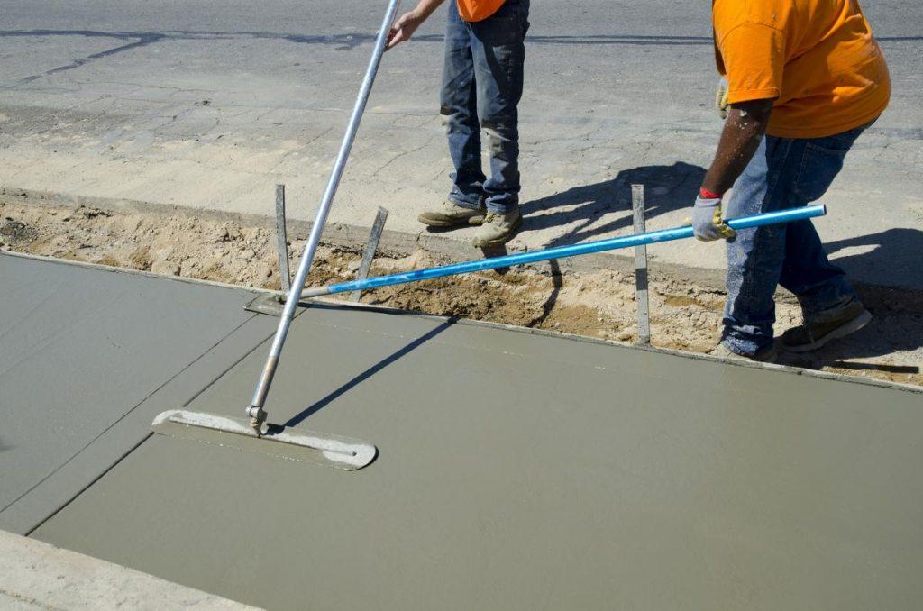 concrete task